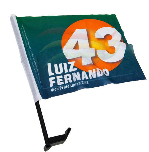 BANDEIRA DE CARRO LUIZ FERNANDO