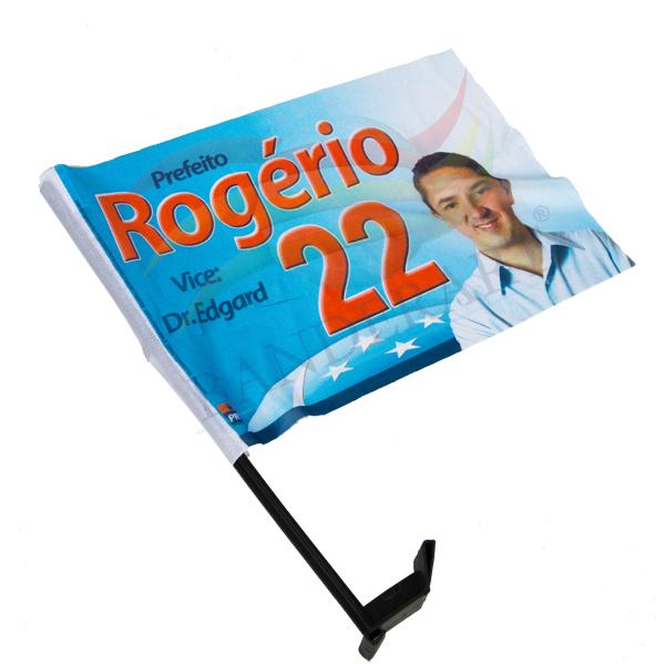 BANDEIRA DE CARRO ROGÉRIO