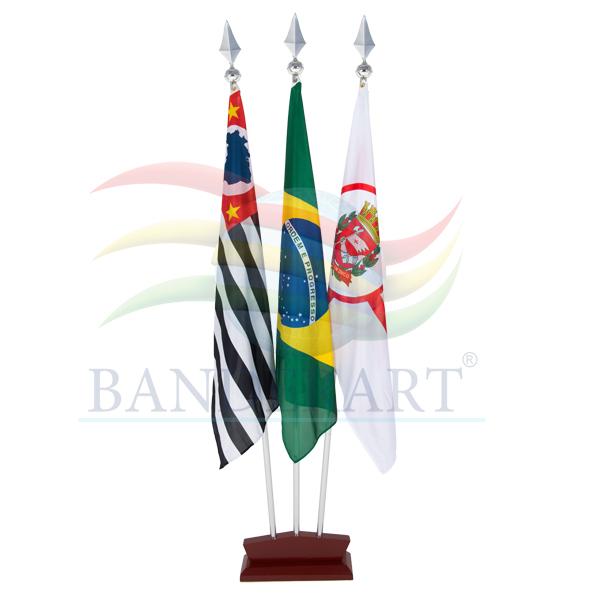 BANDEIRAS INTERNAS  BASE COM 3 FUROS