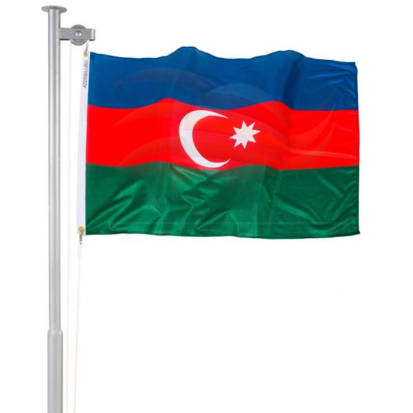 Bandeira Azerbaijão