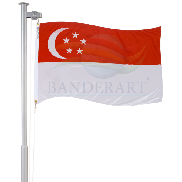 Bandeira Cingapura