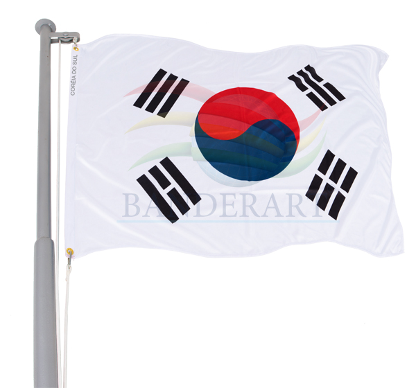 Bandeira Coréia do Sul