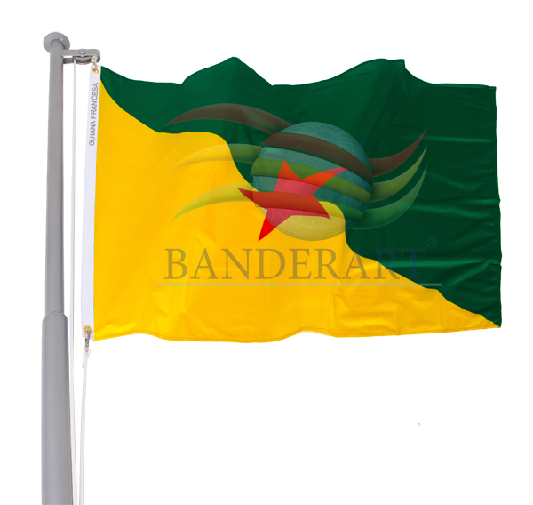 Bandeira Guiana Francesa