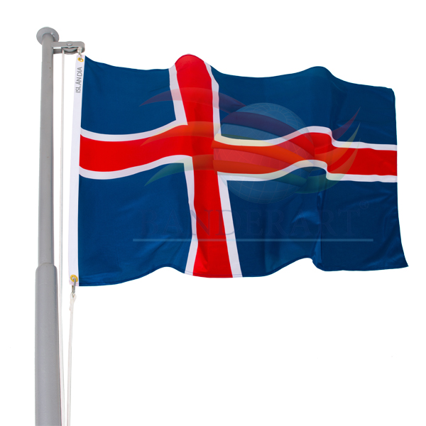 Bandeira Islândia