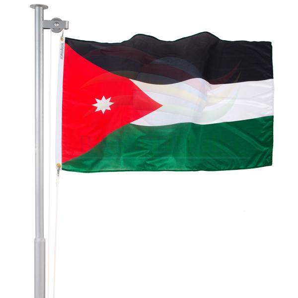 Bandeira Jordânia