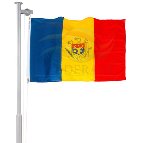 Bandeira Moldova