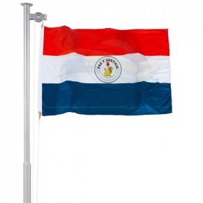Bandeira do Paraguai verso