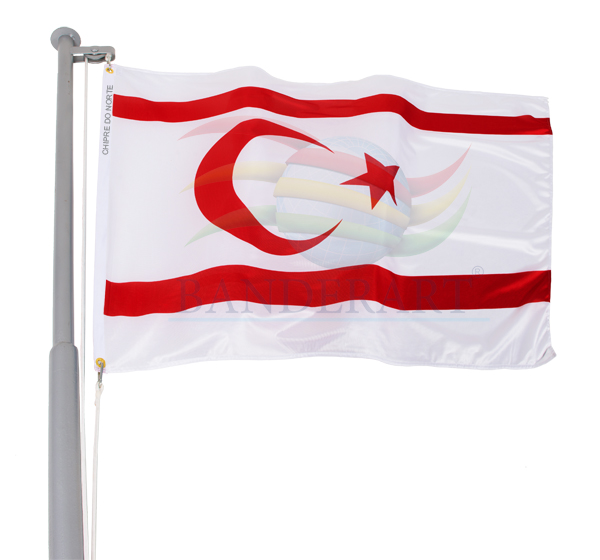Bandeira de Chipre do Norte