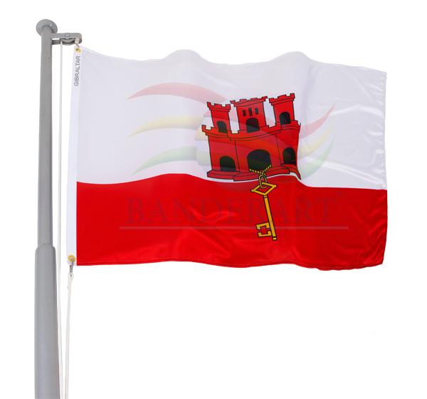 Bandeira de Gibraltar